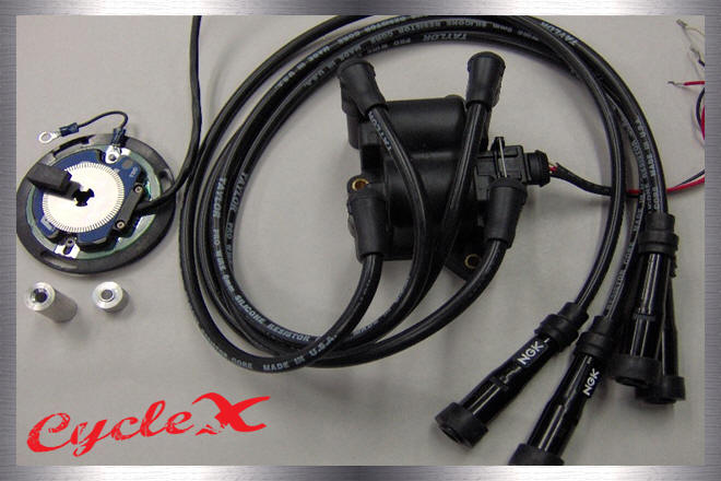 honda 750 ignition electrical system components rh cyclexchange net CB750 Chopper Wiring Diagram 750 1981 Honda CB750 Custom