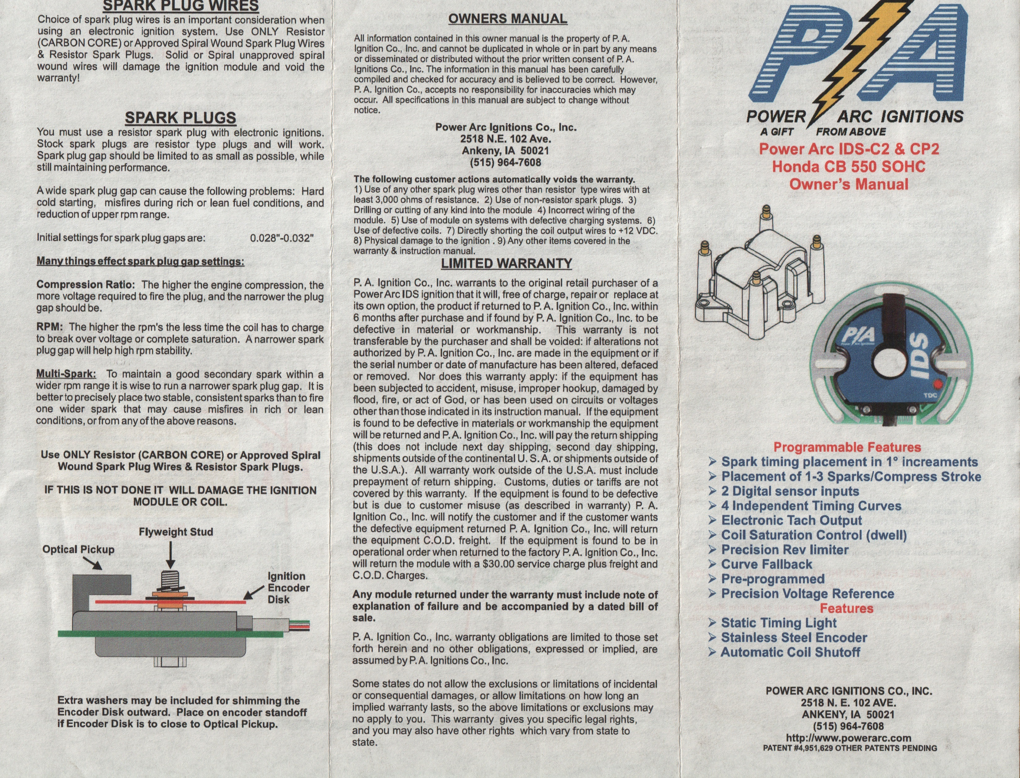 Power Arc Ignition Wiring Diagram Library Sohc Cb550